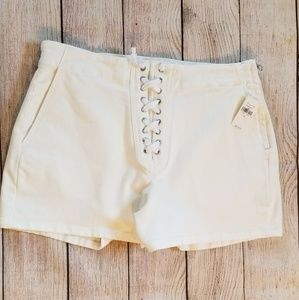 🆕️NWT Gap Lace Up Denim Shorts